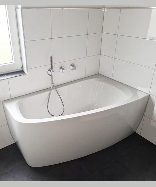 Ansicht Badewanne